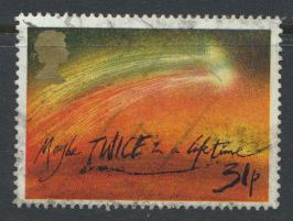 Great Britain SG 1314 - Used - Halley's Comet