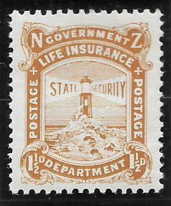 New Zealand OY16 Life Insurance Department 1919 MLH