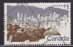 Canada 599a USED 1973 Vancouver $1.00