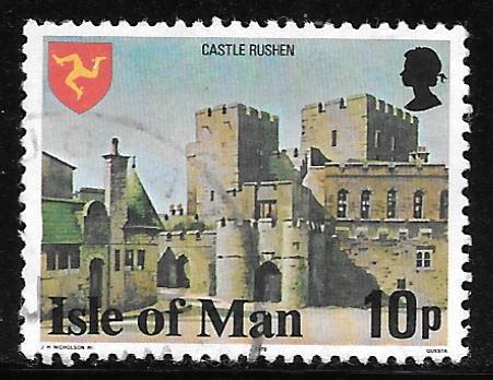 Isle of Man 119: 10p Castle Rushen, used, VF