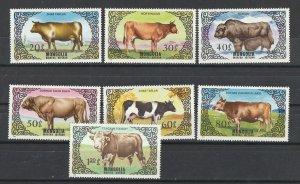 Mongolia MNH 1419-25 Cattle SCV 4.55