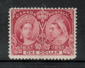 Canada #61 Mint Fine Never Hinged - Light Gum Bend **With Certificate**
