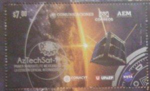 RO) 2020 MEXICO, SATELLITE - SPACE, UPAEP, NANOSATELITE AZTECHSAT-1, ENERGY