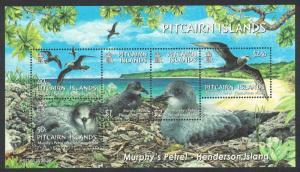 Pitcairn Birds Murphy's Petrel MS SG#MS679 MI#Block 37 SC#608a