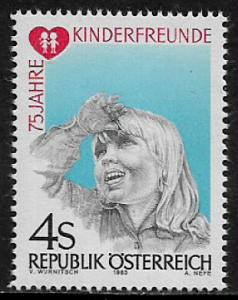 Austria #1234 MNH Stamp - Children's Friends Organization - 40% Cat.