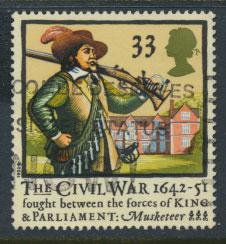 Great Britain SG 1622   Used  - Civel War