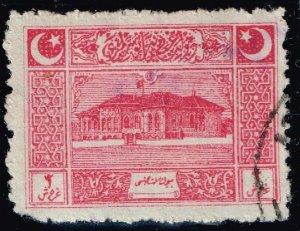 TURKEY Stamp 1922 First Parliament, Ankara USED 3 PIA
