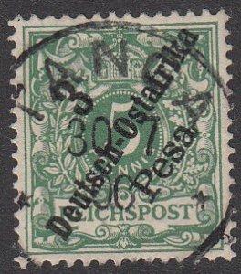 German East Africa 7 Used CV $4.50