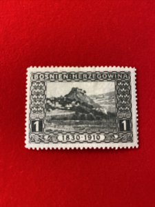 1910 Bosnia Stamp - Scott #46 Mint MH