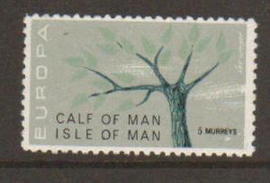 Calf of Man 1962 Europa mint