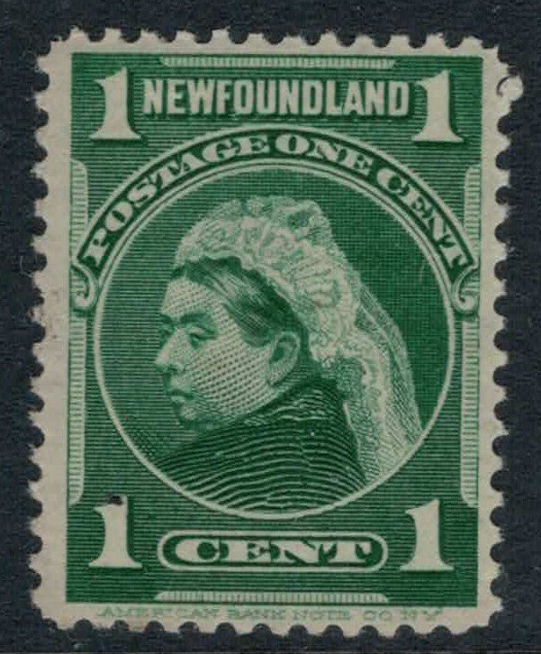 Newfoundland #80* NH CV $5.50