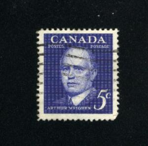 Canada  393  -2  used VF PD 1961