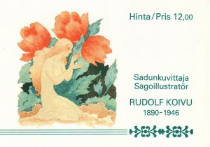 FINLAND *825a MNH COMPLETE BOOKLET 2019 SCOTT CATALOGUE VALUE $10.00