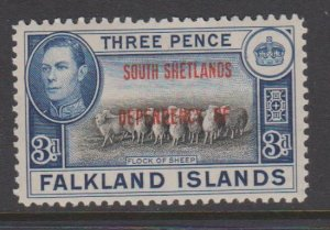Falkland Islands Sc#5L4 MH