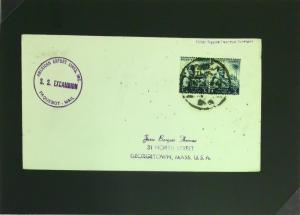 Egypt 1950s Paquebot Cover to USA - Z2793