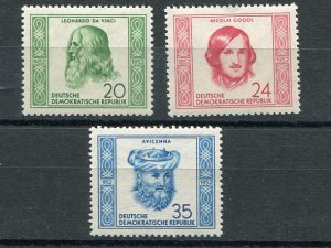 GDR #104-6  Mint VF NH -  Lakeshore Philatelics