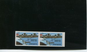 Scott C115a Airmail Imperf ERROR Pair of 2 Stamps NH with PF Cert (Stk C115-PF)
