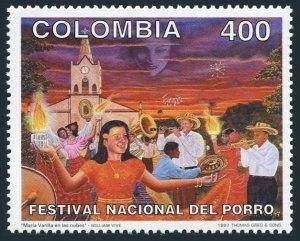 Colombia 1134,MNH.Michel 2050. National Festival of Porro, 1997.