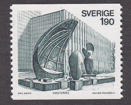 Sweden 1152 Sculpture By Grate NH 1 2 Cat HipStamp