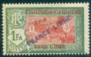 French India #125  Mint  Scott $4.75