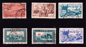 Morocco Stamp USED STAMPS COLLECTION LOT #3