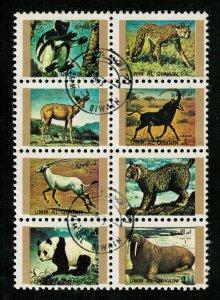 Animals, block, (3138-T)