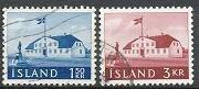 Iceland 333-334 used (1961)