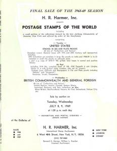HR Harmer: Sale # 1908-1909  -  Postage Stamps of the Wor...
