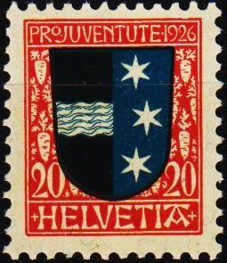 Switzerland. 1926  20c S.G.J38 Unmounted Mint