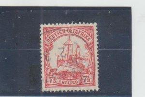 German East Africa  Scott#  33  Used  (1905 Hohenzollern)