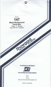 SHOWGARD BLACK MOUNTS 264/147 (5) RETAIL PRICE $14.95