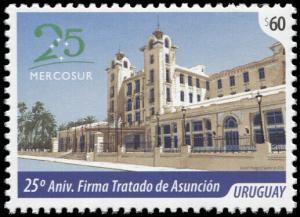 Uruguay. 2016. The 25th Anniversary of the Treaty of Asuncion (MNH OG) Stamp