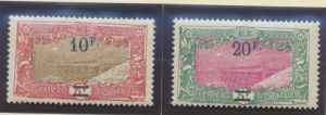 Somali Coast (Djibouti) Stamps Scott #129 To 134, Mint Hinged - Free U.S. Shi...