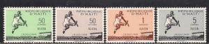 Haiti 1958 30th anniv World Championship Record Broad Jump Jumping Sports Stamps