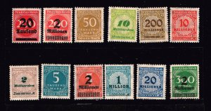 GERMANY STAMP COLLECTION LOT  #1