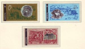 Lithuania Sc 524-6 1995 Castles stamp set mint NH