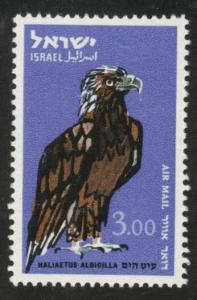 ISRAEL Scott C37 MNH** 1963 airmail stamp Sea Eagle