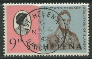 STAMP STATION PERTH St Helena #206 Abolition of Slavery 1968 VFU
