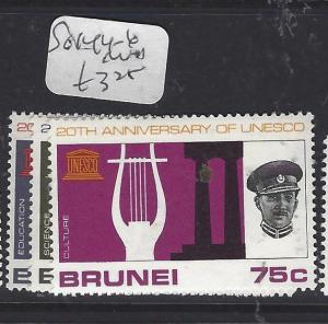BRUNEI  (P0112B)   UNESCO  SG 144-6   MNH