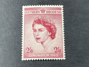 SOUTHERN RHODESIA # 80-MINT/NEVER HINGED---SINGLE---1953