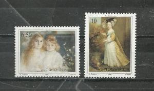 Yugoslavia # 2070-2071 Mint NH