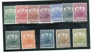 Newfoundland #115 - #126 Mint Never Hinged Fine Set