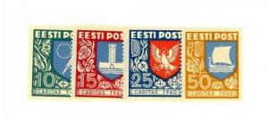 Estonia Scott B46-B49 NH