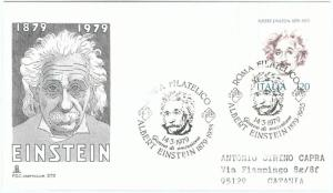 73660 - ITALY  - Postal History -   FDC Cover 1979 - EINSTEIN