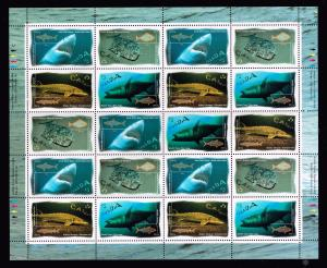 CANADA STAMP 1997 Ocean Fish MNH SHEET OF 20