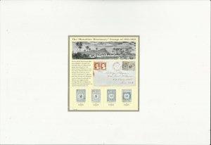 US Stamps/Postage/Sheets Sc #3694 Hawaiaan Missionary MNH F-VF OG FV $1.48