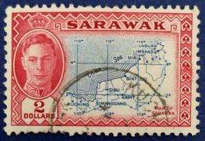 Sarawak Scott # 193 Used (A160)
