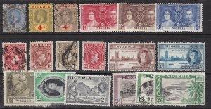 NIGERIA ^^^^^sc# 4//88   mint & used   collection  $$  @ lar 130nigeria
