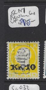 ICELAND   (PP1607B)  10  KR SURCHARGE SC 147    VFU  REVENUE CANCEL