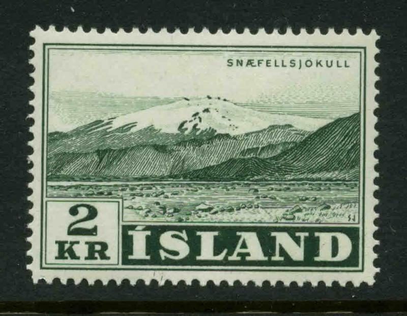 Iceland  Scott #302 Facit #350 Mint